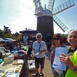 Heage Windmill staff
